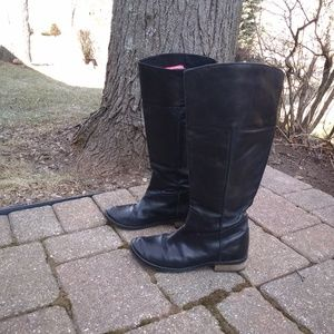 Mia leather riding boots 7.5 8